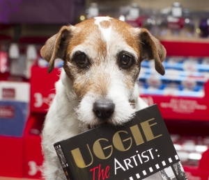 Uggie, cainele care a primit premiul Palme Dog of Palme Dogs la Cannes