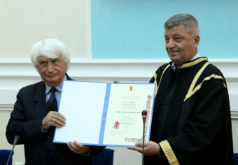 Emil Boroghină, Doctor Honoris Causa al Universității din Craiova